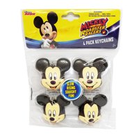 Mickey 4pk Squishy