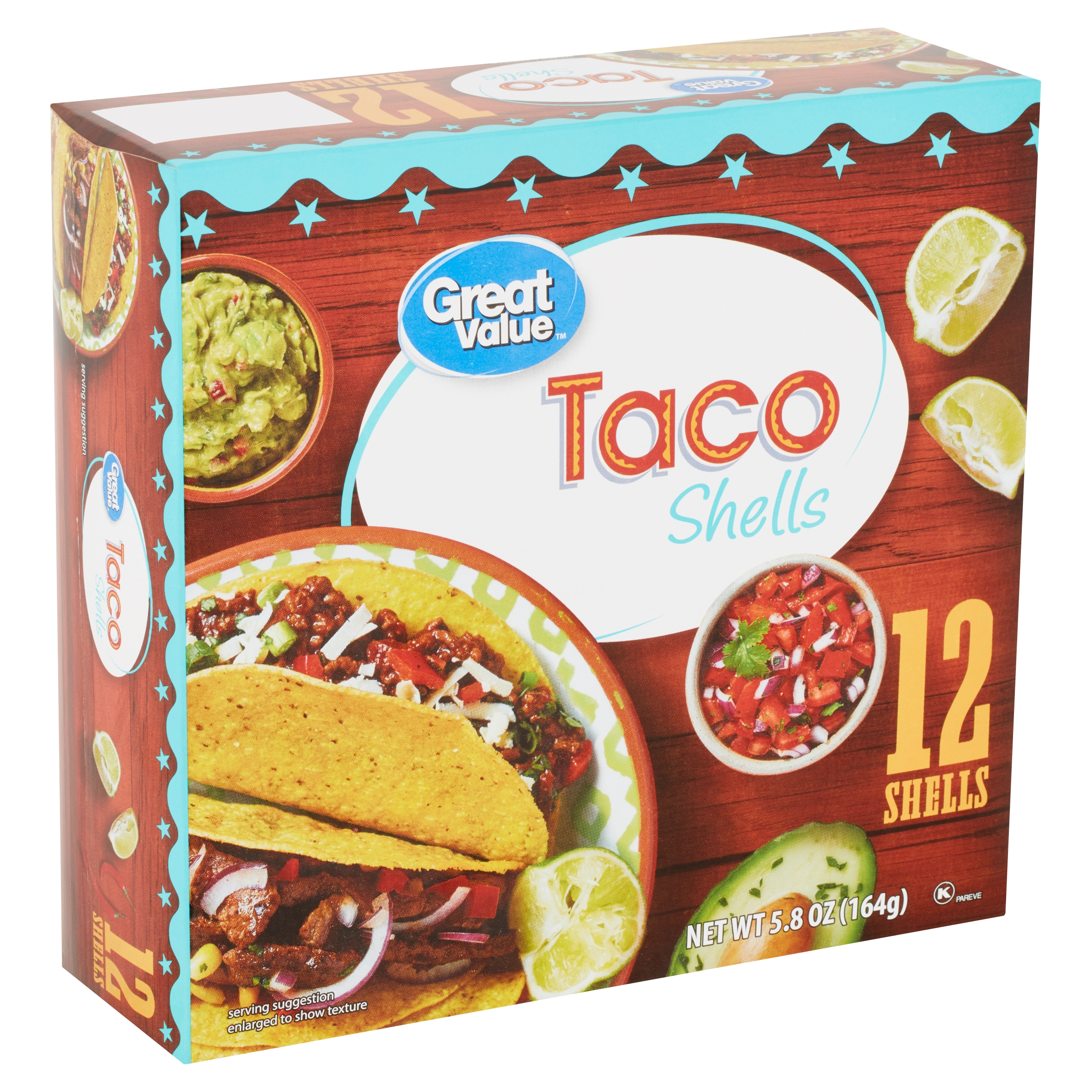 Great Value Taco Shells 5 8 Oz Box From Walmart In Fort Worth Tx Burpy Com