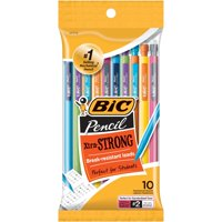 BIC Xtra-Strong Mechanical Pencil, Colorful Barrel, Thick Point (0.9mm), 10 Count