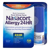 Nasacort Allergy 24 HR Multi-Symptom Nasal Allergy Spray