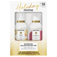 Pantene Dry Shampoo and Dry Conditioner Mist Waterless Collection Holiday Gift Set