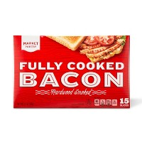 Pre-Cooked Bacon - 2.1oz - Market Pantry™