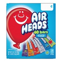 Airheads Chewy Candy - 60ct