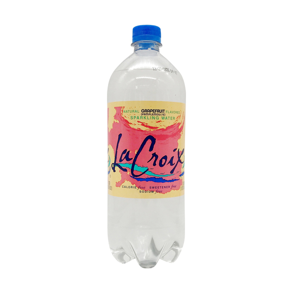 Lacroix sparkling water Grapefruit Sparkling Water, 1 liter