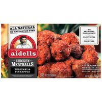 Aidells Teriyaki & Pineapple Chicken Meatballs, 46 oz