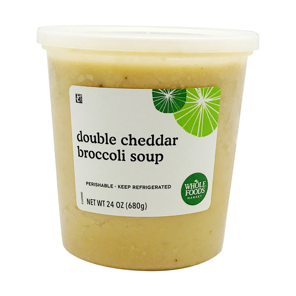 Double Cheddar Broccoli Soup, 24 oz