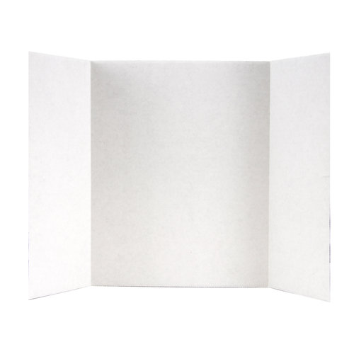 Elmer's TriFold White Corrugate Display Board, 14