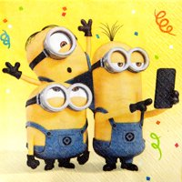 Despicable Me Minions Party Lunch Napkins, 16ct