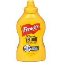 French's Classic Yellow Mustard, No Artificial Colors, 14 oz