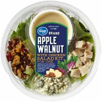 Kroger Apple Walnut With Chicken Salad Kit For One