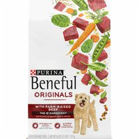Purina Beneful Real Meat Dry Dog Food, Originals With Farm-Raised Beef