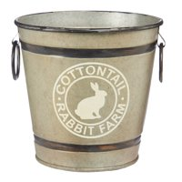 """Way to Celebrate Easter Bunny Pail 4.25"""""""