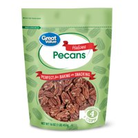 Great Value Pecan Halves, 16 oz