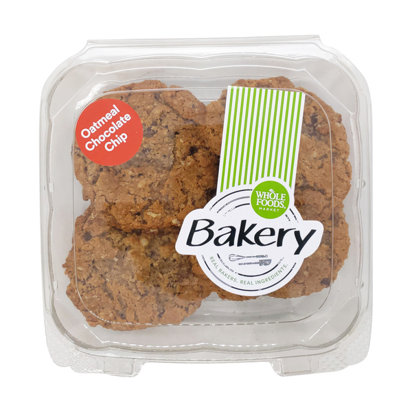 Whole foods market™ Oatmeal Chocolate Chip Cookie 6pk, 1 lb