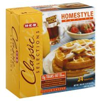H-E-B Classic Selections Homestyle Waffles
