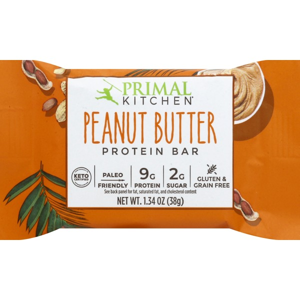 Primal Kitchen Protein Bar, Peanut Butter