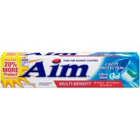 AIM Cavity Protection Toothpaste Ultra Mint Gel - 5.5oz.