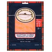 Blue Hill Bay Pre-Sliced Scottish Cured Smoked Salmon - 4oz