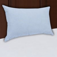 Mainstays HUGE Pillow 20' x 28' in Blue and White Stripe