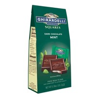 Ghirardelli Dark & Mint Filled Chocolate Squares - 6.38oz
