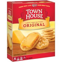 Keebler Town House Original Light and Buttery Crackers 13.8 oz.
