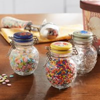 The Pioneer Woman Floral Medley 3-Pack Spice Jars with Lids