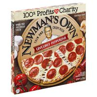 Newman's Own Pizza, Thin & Crispy, Uncured Pepperoni