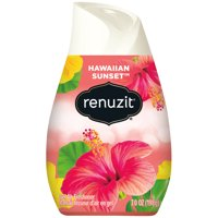 Renuzit Gel Air Freshener, Hawaiian Sunset, 7.0 Ounce