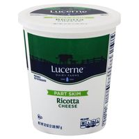 Lucerne Dairy Farms Part Skim Ricotta Cheese