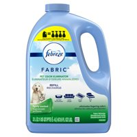 Febreze Odor-Eliminating Fabric Refresher Refill, Pet Odor Eliminator, 67.6 Oz