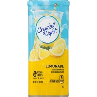 Crystal Light Natural Lemonade Drink Mix - 6pk/3.2oz