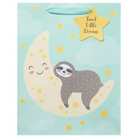 Large Sloth Print Cub Bag - Spritz™