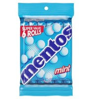 Mentos Chewy Mint Candies - 6ct