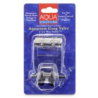 Aqua Culture 2-1/2 Way Aquarium Gang Valve
