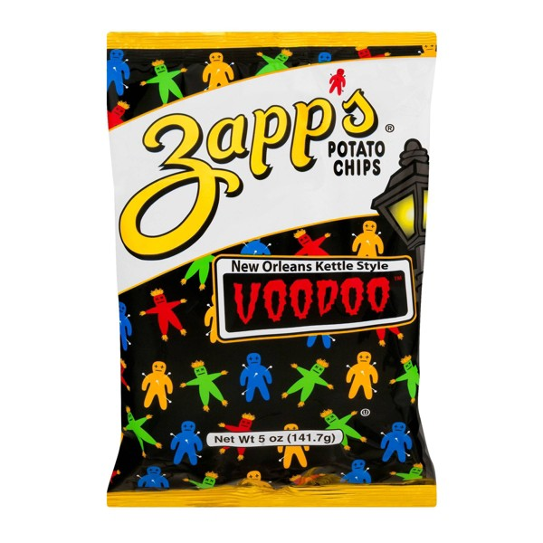 Zapp's New Orleans Kettle Style Voodoo Potato Chips - 5oz