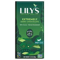 Lily's Chocolate, Extremely Dark, 85% Cocoa