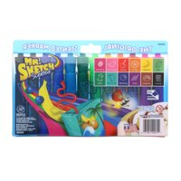 Mr. Sketch® Scented Chisel Tip Marker Set, 12-Color