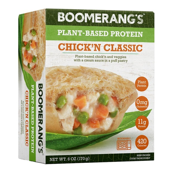 Boomerang's Pie, Plant-Based Protein, Chickn'n Classic