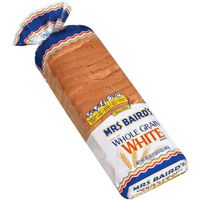 Mrs. Baird's made with Whole Grain White Bread