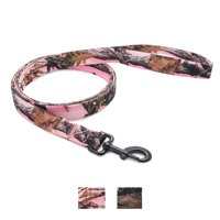 Vibrant Life Patterned Dog Leash, Pink Camo, 5-ft,1-in