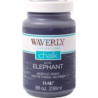 Waverly Inspirations Chalk Acrylic Paint - Elephant, 8 oz.