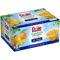 Dole Fruit Bowls No Sugar Added Dole No Sugar Added Mandarin Oranges