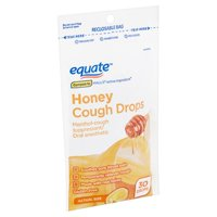 Equate Honey Cough Drops, 30 count
