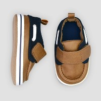 Baby Boys' Boat Shoe 3-6M - Just One You® made by carter's Blue 3-6M