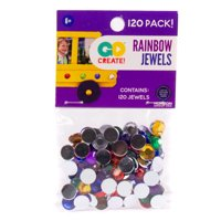 Go Create! 9mm Assorted Rainbow Jewels