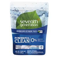 Seventh Generation Dishwasher Detergent Packs Fragrance Free