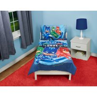 PJ Masks Time to Save the Day Toddler Bed Set