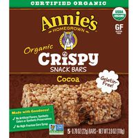Annie's Homegrown Homegrown Organic Cocoa Crispy Snack Bars