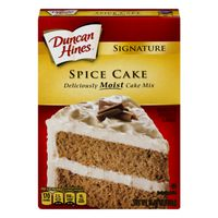 Duncan Hines Cake Mix Spice Cake