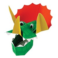 Meri Meri - Dinosaur Party Hats - Wearable Party Accessories - 8ct